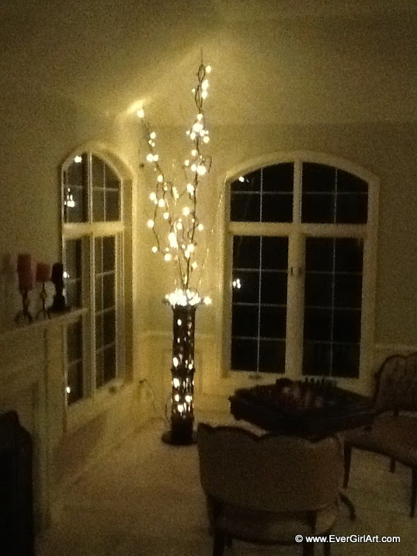 Home made Chirstmas tree